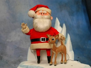 Santa&Rudolph
