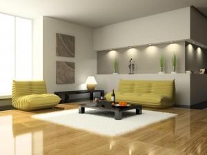 bright luxury apartment