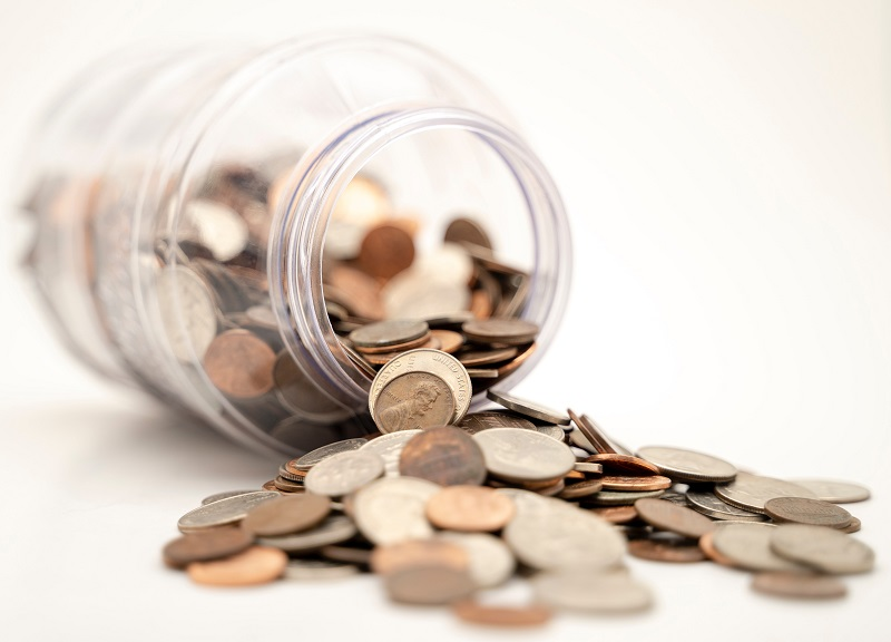 a jar of pennies may help you save up for your first apartment